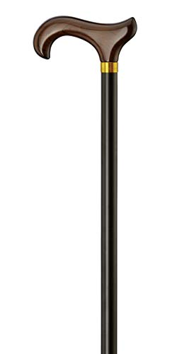 Gastrock Unisex– Erwachsene 40225-S Walking-Stöcke, Schwarz, One Size