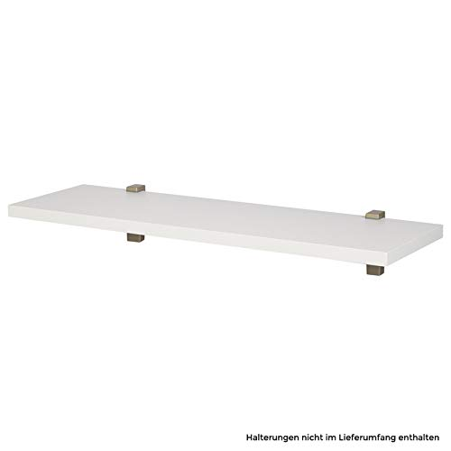 Wandboard/Wandregal nobilia elements VB25, 193 Alpinweiss, 60 cm