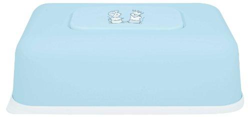 Bébé-Jou - Caja para toallitas húmedas, diseño de ratones, color blanco, rojo y azul