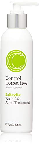 CONTROL CORRECTIVE SKIN CARE SYSTEMS Salicylic Wash 2% | Supports Clear Skin | Excellent for Oily or Acne-Prone Skin | 6.7 Fl Oz