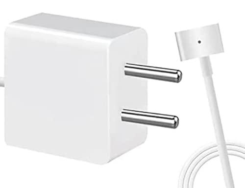 Cargador de MacBook Air de Repuesto AC 45W Power Conector en Forma de T Adaptador de Corriente para 11 Pulgadas y 13 Pulgadas después de Mediados de 2012