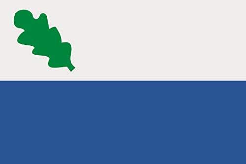 U24 Sticker Oirschot (Nederland) vlag vlag 8 x 5 cm autosticker sticker sticker