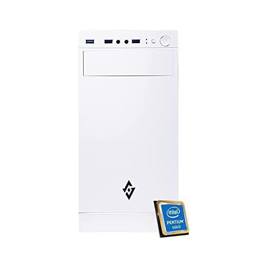 Pc fisso Intel Cpu 4,10 GHz Turbo,Ram 16Gb Ddr4,Ssd M.2 256Gb,Lettore masterizzatore cd dvd,Windows 10 Pro Scheda Video UHD,Pc fisso ufficio casa completo Computer Desktop