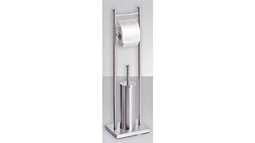 Zeller 18414 WC-Garnitur, Edelstahl
