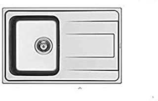 Succsale - Edelstahlspüle-Einbauspüle -Beckenabmessungen ALEA 79X50 1B 1D-ALEA-PYRAMIS-107158612