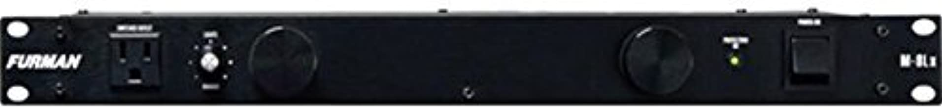 Furman M-8Lx Standard Level Power Conditioning, 15 Amp, 9 Outlets with Wall Wart Spacing,..