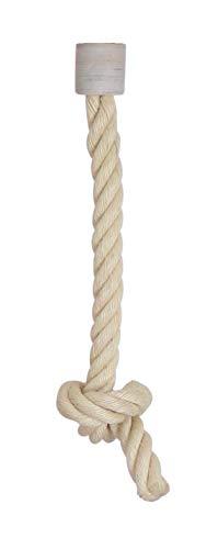 Kratzbaumland Spielseil mit Halterung (versch. Größen): Gewinde - 8 mm -M8-, Sisalseil - 30 mm, Länge - 40 cm