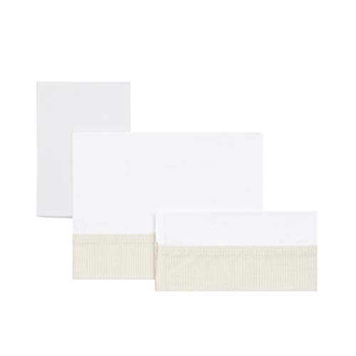 Cambrass Star - Sabana para capazo, pack de 3, color beige
