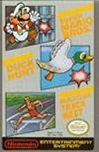 Super Mario Brothers/Duck Hunt/World Class Track Meet MANUAL, Manual Instructions booklet (Original Instruction guide) (VIDEO GAME AND ORIGINAL BOX IS NOT INCLUDED)(SMALL PAPERBACK ORIGINAL INSTRUCTIONS MANUAL BOOKLET ONLY) (VIDEO GAME NOT INCLUDED) (Super Mario Brothers/Duck Hunt/World Class Track Meet ORIGINAL INSTRUCTIONS MANUAL)