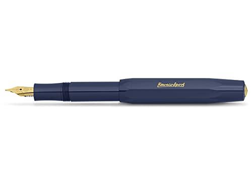 Kaweco Classic Sport - Pluma estilográfica, color azul marino
