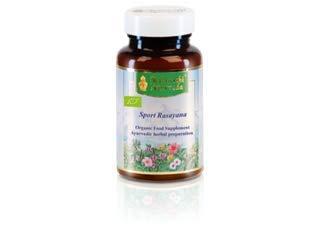 Maharishi Ayurveda Sportler-Rasayana, Bio, ayurvedisches Nahrungsergänzungsmittel, 100 Tabletten / 50 g