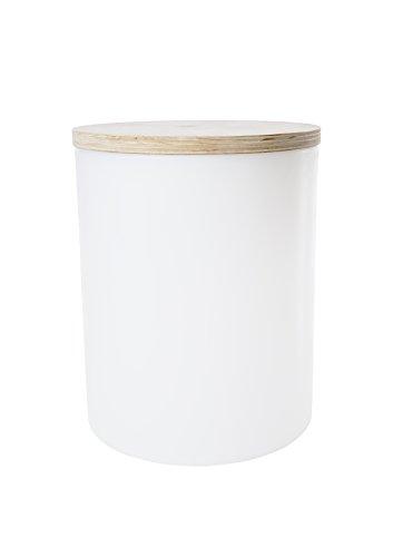 8Seasons Design - Shining Drum - Hocker - Beistelltisch - beleuchtet - Ø 37 cm - Höhe 45 cm