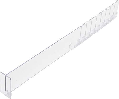 BGS 89956 | Plexi-Trenner | 285/480 x 60 mm | abknickbar | mit Frontbegrenzer