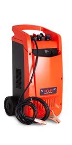 Röhr DFC-650P - Cargador batería Coche/camión - Turbo/Lento - Reparación, Mantenimiento, Inicio rápido - 100 A - 12/24 V