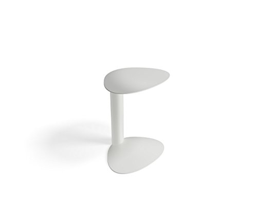 BDI Furniture Bink Mobile Media Table, Salt