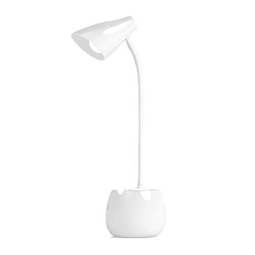 Lámpara Escritorio LED Lámpara de escritorio LED Escritorio de protección ocular Dormitorio universitario Estudio Dormitorio...