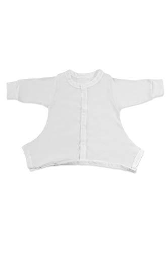 Hip-Pose Baby-Schlafanzug für Spreizhose und Gipshosen für Babys 3-6 Monate, weiß