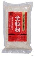 ムソー 国内産有機小麦粉/全粒粉 500g 6セット 20906