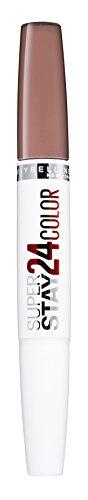 Maybelline Superstay 24H Lippenstift nr. 110 Quartz Star, kleurintense, vloeibare lippenstift met tot 24 uur houvast, gepatenteerde Micro-Flex-formule, met geïntegreerde verzorgingskalm, 5 g
