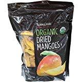Kirkland Signature Organic Dried Mango, 40 Ounce - PACK OF 2