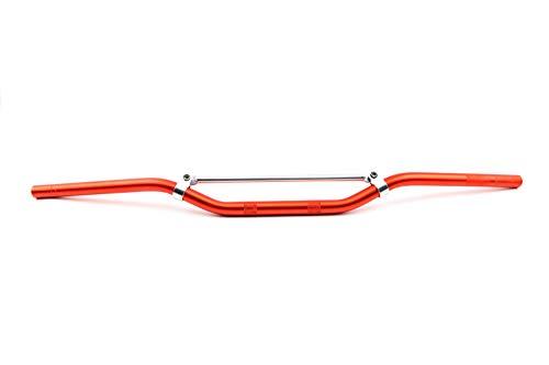 Aluminium Enduro Cross stuur met stang oranje Ø 22 mm breedte 81 cm voor motorfiets scooter Quad Moped Simson S50 S51 S53 S70 bromfiets (RP-VC30827)