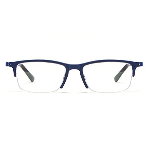 FENGFENG Gafas de Ordenador con Bloqueo de luz Azul para Mujeres y Hombres, antideslumbramiento lectores multifocales sin línea, Gafas de Lectura con Bloqueo de luz Azul, visión Mejorada