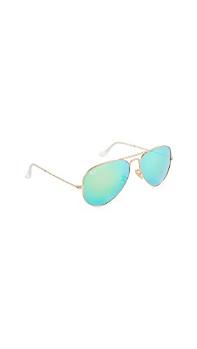 Ray-Ban Sonnenbrille RB3025 Aviator Sonnenbrille 58, Gold