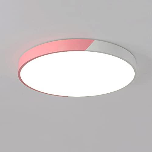 WANGYAN Luz De Techo Empotrada LED, Accesorio De Iluminación Redondo Fácil De Instalar De 36W Cocina, Dormitorio, Sala De Estar, Accesorios De Iluminación, Lámpara De Techo Ahorro...