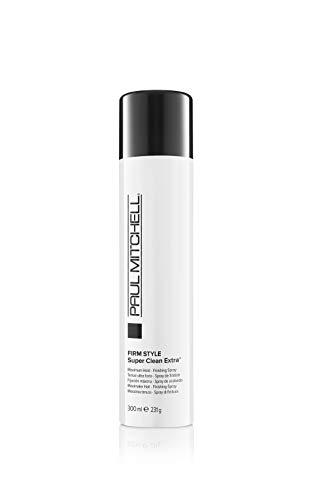 Paul Mitchell Super Clean Extra - Haarspray für maximalen Halt und Fülle, schnell trocknendes Hold-Spray für mehr Glanz und Kontrolle - 300 ml