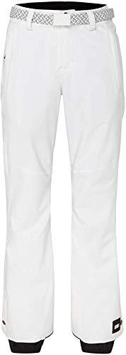 O'Neill Damen PW Star Slim Snow Pants, Powder White, L