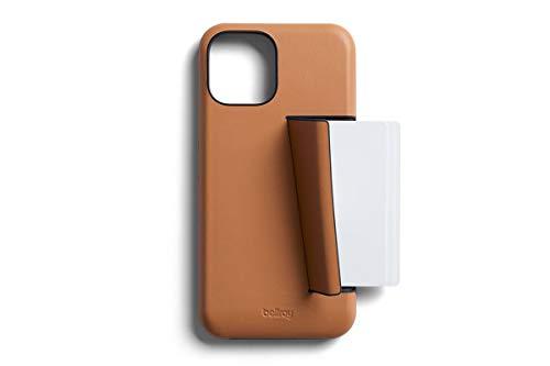 Bellroy Funda de Piel Slim Premium con Tarjetero para el iPhone 12-3 Tarjetas - Toffee