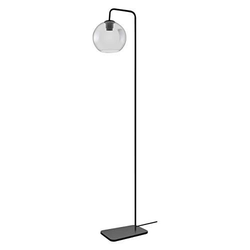 LEDVANCE Vintage Edition 1906, Stehlampe mit E27 Sockel, Rauchgraues Glas, Ohne Leuchtmittel, Globe Floor