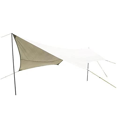 Tienda de campaña grande para playa, ángulo reforzado, doble polo, impermeable y parasol multifuncional para sala de estar, también apto para entretenimiento en la playa