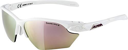 ALPINA TWIST FIVE HR S CM+ Sportbrille, Unisex– Erwachsene, white, one size