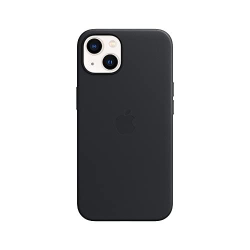 Apple Leder Hülle mit MagSafe (für iPhone 13) - Mitternacht