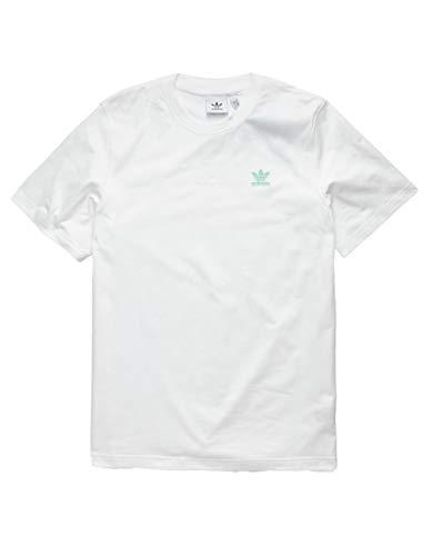 adidas Originals Camiseta para hombre con espalda delantera - blanco - X-Large