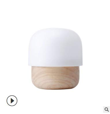 Mother and child light small mushroom logs baby sleep light night light bedroom feeding small night light LED66.8 x 66.8 x 73 (mm)