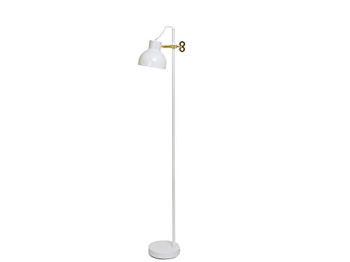 Leitmotiv LM1007 Stehlampe, Metall, Weiß