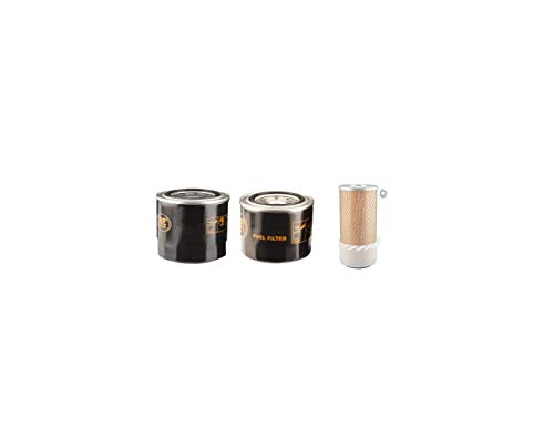 Grün Mech Quad Chip 160 Filter Service Set Mit/Kubota Motor Luft Öl Kraftstoff Filter
