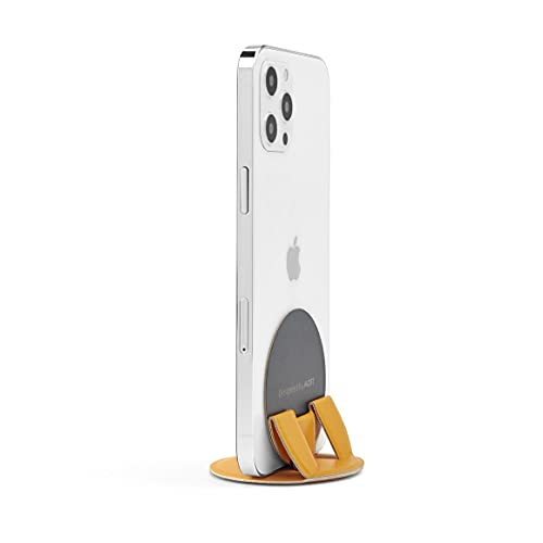 MOFT O Snap スマホスタンド&グリップ 丸型 iPhone iPhone12 iPhone12mini iPhone12promax Magsafe対応機種 マグシール(※別途購入) の併用で全機種対応可能 (Yello)