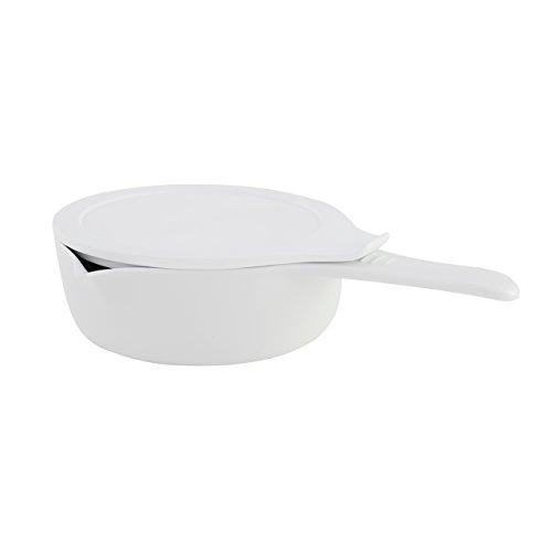ESCHENBACH Cook y Serve Cazo con Tapa (0, 75L/16cm–Olla de Porcelana, 26x...