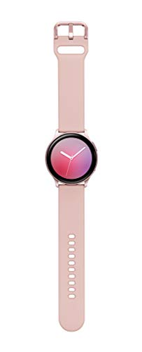 Samsung Galaxy Watch Active2 W/ Enhanced Sleep Tracking Analysis, Auto Workout Tracking, and Pace Coaching (40mm, GPS, Bluetooth), Pink Gold - US Version with Warranty