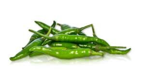 green chili peppers - 2