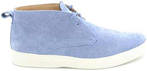 Tod& 039;s EZBC025018 Herren Blau Wildleder Desert Stiefel