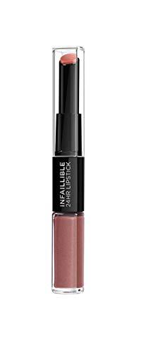 L'ORÉAL PARIS Rouge à Lèvres Longue Tenue 312 Incessant Russet 26 g