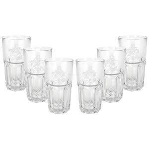 Captain Morgan Captain Cola Longdrink Glas Gläser - 6er Set