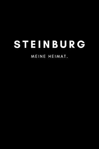 Steinburg: Notizbuch, Notizblock, Notebook   Punktraster, Punktiert, Dotted   DIN A5 (6x9 Zoll), 120 Seiten   Notizen, Termine, Ideen, Skizzen, ...   Deine Stadt, Dorf, Region, Liebe und Heimat