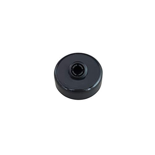 Teigabweiser schwarz für den Knethaken der Bosch Küchenmaschine MUM4 - MUM5
