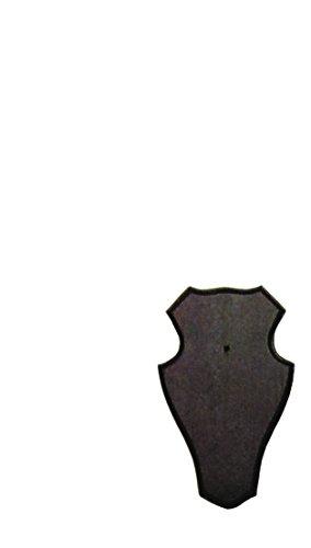 Jehn Gehörnschild 1910A, Dunkelbraun, 19x12cm