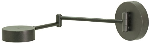 House of Troy G475-GT Generation LED Swing Arm Wall Lamp, Granite